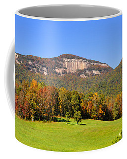 Table Rock In Autumn Coffee Mug by Lydia Holly