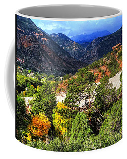 Table Rock To Pike's Peak Coffee Mug by Lanita Williams