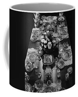 Table Settings On Dining Table Coffee Mug