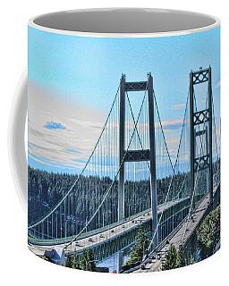 Tacoma Narrows Bridge 51 Coffee Mug