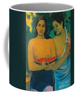 Tahiti Two Tahitian Women Coffee Mug