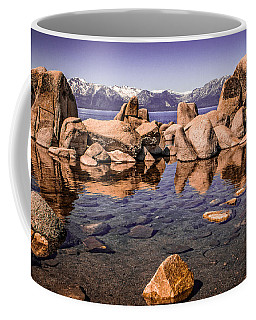 Coffee Mug featuring the photograph Tahoe Reflections by Steven Bateson