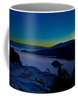 Coffee Mug featuring the photograph Tahoe Sunrise by Jim Thompson