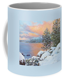 Tahoe Winter Colors Coffee Mug
