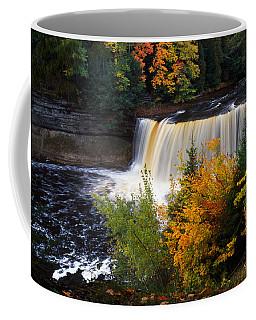 Tahquamenon Falls, Autumn Color Forest Coffee Mug
