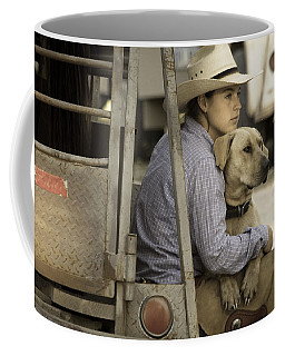 Tailgate Friends Coffee Mug by Steven Bateson