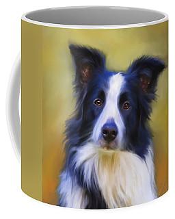 Beautiful Border Collie Portrait Coffee Mug