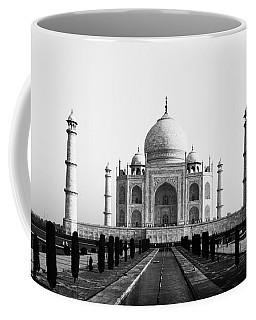 Taj Mahal Bw Coffee Mug