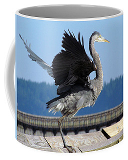 Coffee Mug featuring the photograph Take Off by I'ina Van Lawick