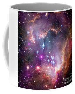 Coffee Mug featuring the  Taken Under The Wing Of The Small Magellanic Cloud by Paul Fearn