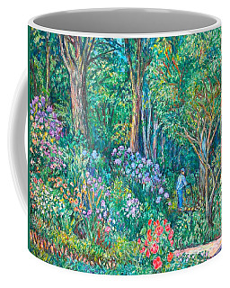 Coffee Mug featuring the painting Taking A Break by Kendall Kessler