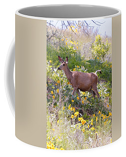 Coffee Mug featuring the photograph Taking A Stroll In The Country by Athena Mckinzie
