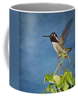 Taking Flight Coffee Mug by Peggy Hughes