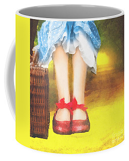 Taking Yellow Path Coffee Mug