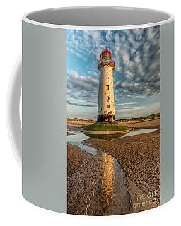 Talacre Lighthouse Sunset Coffee Mug