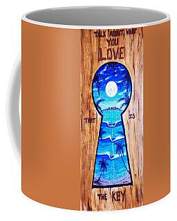 Talk About Love Coffee Mug