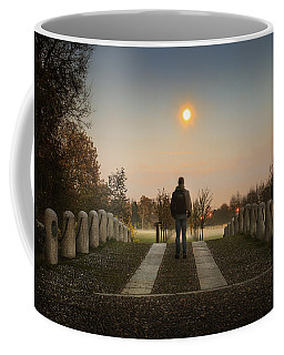 Talking To The Moon Coffee Mug