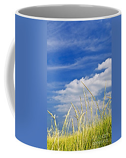 Tall Grass On Sand Dunes Coffee Mug
