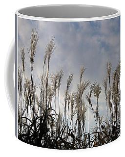 Tall Grasses And Blue Skies Coffee Mug