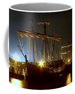 Tall Ships Coffee Mug by Debra Forand