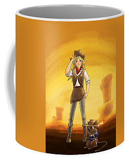 Tammy And Alfred Tame The West Coffee Mug
