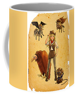 Tammy And The California Gold Rush Coffee Mug by Reynold Jay
