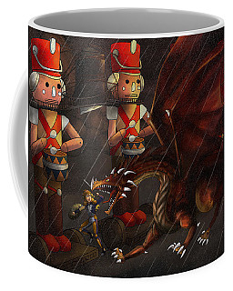 Tammy And The Korgoyle Coffee Mug by Reynold Jay