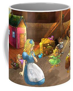 Tammy And Friends In The Backyard Coffee Mug