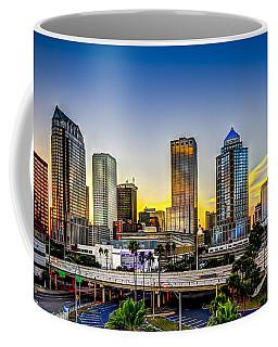 Tampa Skyline Coffee Mug by Marvin Spates