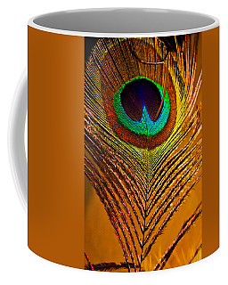 Tan Feather Coffee Mug