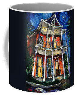 Tangerine Moon Coffee Mug by Carole Foret