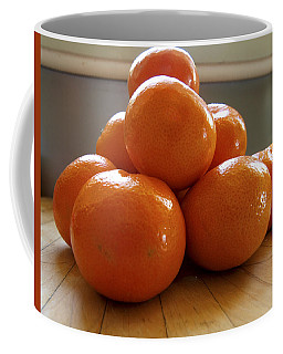 Coffee Mug featuring the photograph Tangerined by Joe Schofield