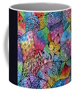 Tangled Leaves Coffee Mug by Megan Walsh