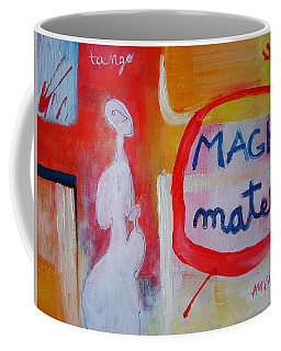 Coffee Mug featuring the painting Tango by Ana Maria Edulescu