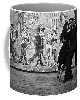 Tango Dancers In Buenos Aires Coffee Mug by Venetia Featherstone-Witty