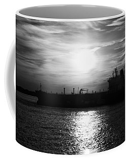 Tanker Twilight Coffee Mug