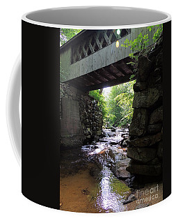 Tannery Hill Bridge Coffee Mug by Mim White