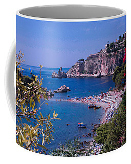 Taormina Beach Coffee Mug