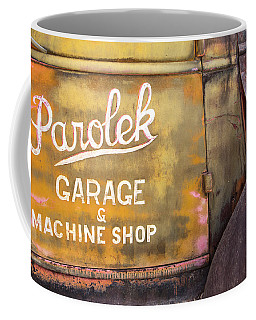 Coffee Mug featuring the photograph Taos Chevy by Steven Bateson