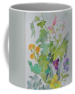 Coffee Mug featuring the painting Taos Spring by Beverley Harper Tinsley