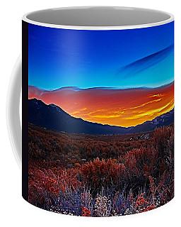 Taos Sunrise X Coffee Mug