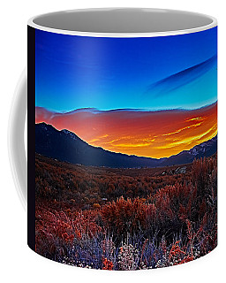 Taos Sunrise X Coffee Mug