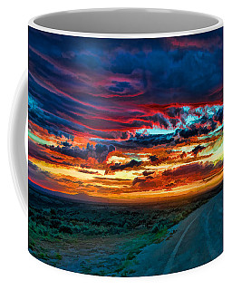 Taos Sunset Iv Coffee Mug