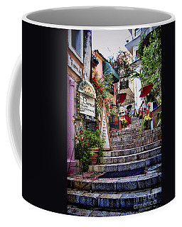 Taormina Steps Sicily Coffee Mug by David Smith