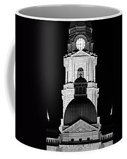 Tarrant County Courthouse Bw V1 020815 Coffee Mug
