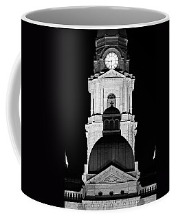 Tarrant County Courthouse Bw V1 020815 Coffee Mug