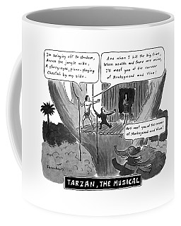 Tarzan The Musical Coffee Mug