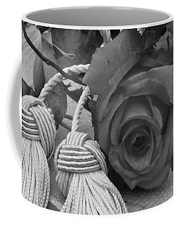 Coffee Mug featuring the photograph Tassels And Roses Beauty by Sandra Foster