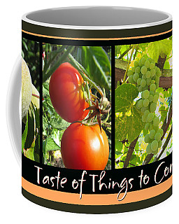 Taste Of Things To Come Photo Collage Coffee Mug by Brooks Garten Hauschild