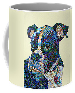 Tater - Portrait Of A Boxer Coffee Mug